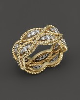 Roberto Coin 18K Yellow Gold New Barocco Diamond Ring