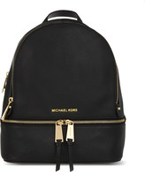 MICHAEL Michael Kors Rhea small leather backpack