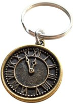 JewelryEveryday Clock Keychain - I still Love Being With You After All This Time