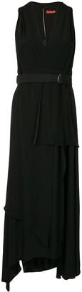 Manning Cartell Australia Belted V-Neck Midi Dress