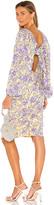 For Love & Lemons Maui Midi Dress