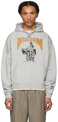 Wonders Grey Adjustable Sleeves Ontario Hoodie