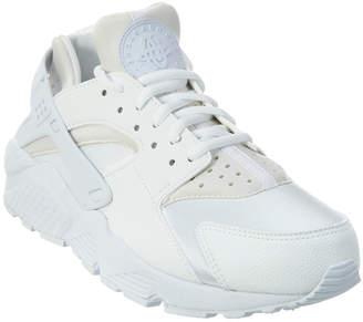 Nike Huarache Run Triple Leather Sneaker