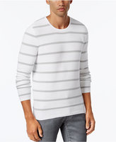 INC International Concepts Men's Texture Stripe Sweater, Only at Macy's