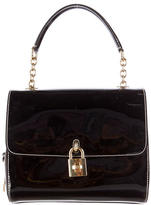 Dolce & Gabbana Patent Leather Miss Dolce Bag