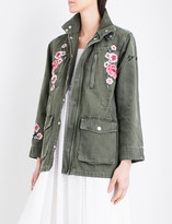 Claudie Pierlot Vaudou denim jacket