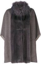 Manzoni 24 panelled cape coat
