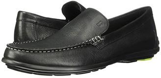 Bostonian Grafton Loafer (Black Leather) Men's Slip on Shoes