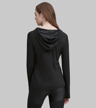 Mny Performance Hooded Active Pullover Top
