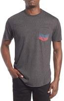 Imperial Motion Men's Chevron Pocket Crewneck T-Shirt