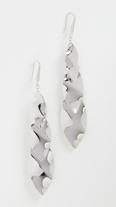 Theia Parker Three Tier Drop Earrings