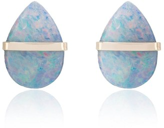 Melissa Joy Manning Labradorite Stud Earrings