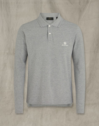 Belstaff LONG SLEEVED POLO Grey