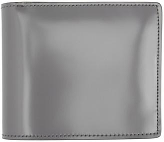 Maison Margiela Grey Leather Bifold Wallet