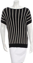 M Missoni Short Sleeved Knit Top