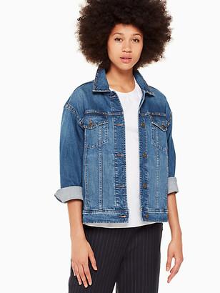 Kate Spade Broome Street Oversized Denim Jacket