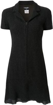 Chanel Pre-Owned 1997 tweed mini dress