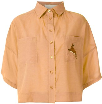 LE SOLEIL D'ETE Yeda embroidered shirt