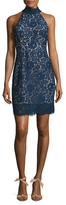 Keepsake Fly Now Lace Sheath Dress