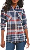 Westbound Petites 2 Pocket Boyfriend Shirt