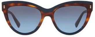 Valentino 54MM Cat-Eye Sunglasses