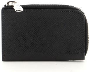 Louis Vuitton Zip Coin Purse Taiga Leather