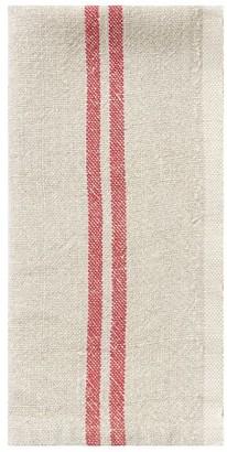 Pottery Barn Vintage Stripe Linen Napkin, Set of 4