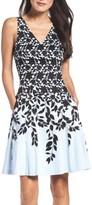 Maggy London Women's Fit & Flare Dress
