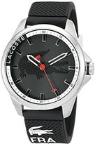Lacoste Men's 2010840 Capbreton Analog Display Japanese Quartz Black Watch