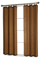 Nobrand No Brand Versailles Bamboo Ring Top Curtain Panel