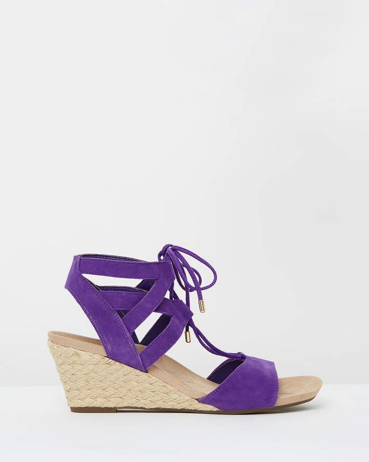 Vionic Tansy Wedge Espadrille Sandals