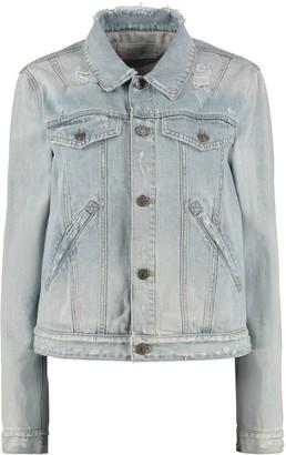 Givenchy Destroyed Denim Jacket