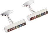 Tateossian Cylinder Cuff Links, Multicolor