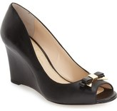Jessica Simpson 'Lecia' Peep Toe Wedge Sandal (Women)