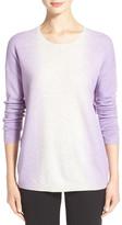 Vince Vertical Dip Dye Crewneck Sweater