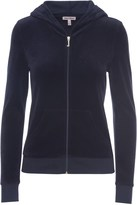 Juicy Couture Logo Velour Jc Starlight Robertson Jacket