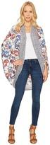 Brigitte Bailey Emmalee Printed Cardigan Women's Sweater