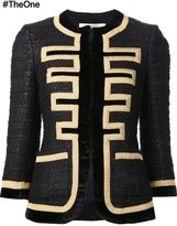 Givenchy 'Grain de Poudre' jacket - women - Silk/Acrylic/Viscose/Wool - 36