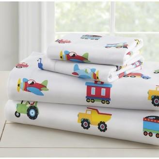 Olive Kids Trucks Bedding Sheet Set