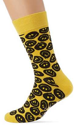 Happy Socks Happy Socks, Colourful Fun Print Cotton Socks for Men and Women, Twisted Smile (41-46)