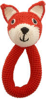 Anne Claire Hand Crochet Fox Rattle With Bell