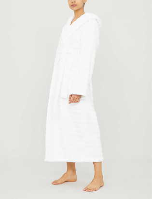 The White Company Hooded hydrocotton dressing gown
