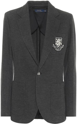 Polo Ralph Lauren Cotton-blend jersey blazer