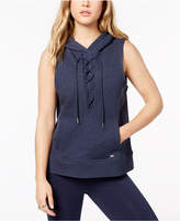 Tommy Hilfiger Lace-Up Hoodie, Created for Macy's