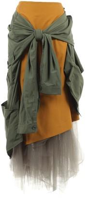 Enfold Multicolour Cotton Skirts