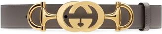 Gucci Horsebit buckle belt