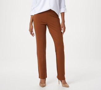 Linea by Louis Dell'Olio Regular Pull-On Super Ponte Knit Pants