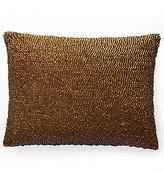 Ralph Lauren Mulholland Drive Collection Holt Metal & Jute Feather Throw Pillow