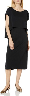 Joan Vass Women's Double Layer Dress