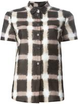 Marc by Marc Jacobs Blurred Gingham shirt